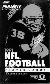 1991 Pinnacle Football Dallas Cowboys
