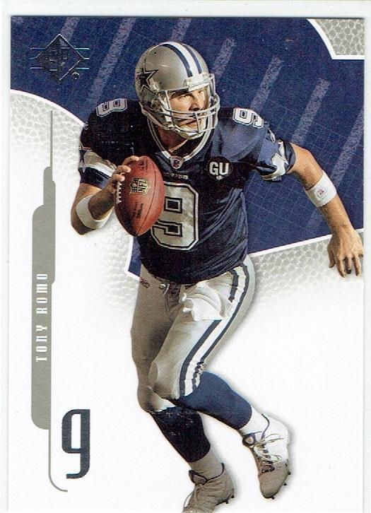2008 SP Authentic #50 Tony Romo