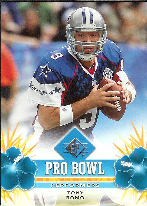 2008 SP Pro Bowl Retail Tony Romo