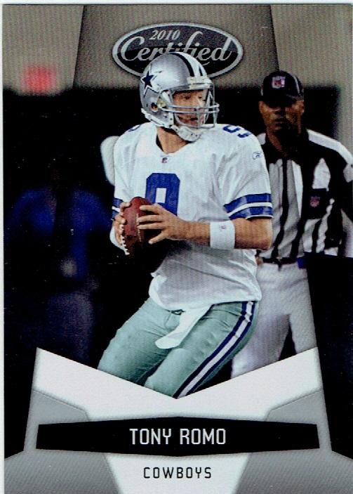 2010 Certified #42 Tony Romo