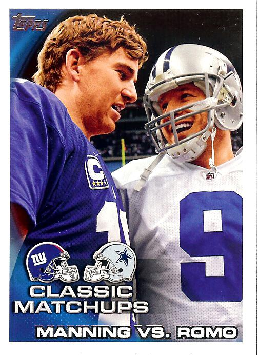 2010 Topps Manning and Romo_226