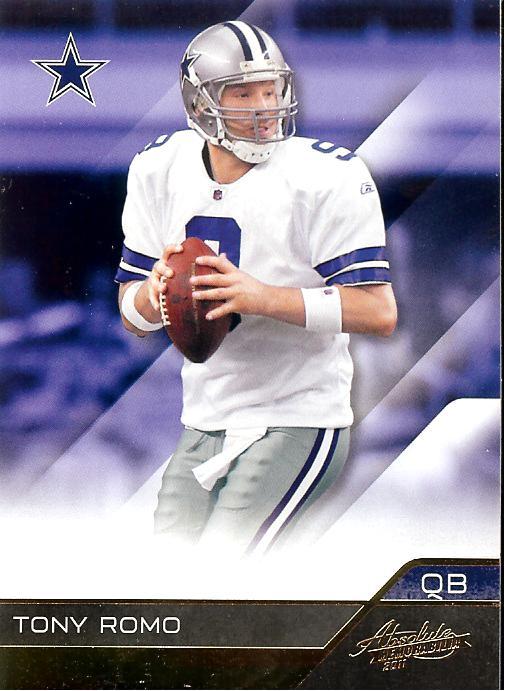 2011 Absolute Retail #31 Tony Romo