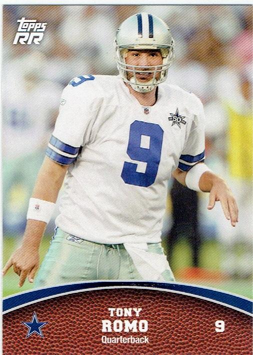2011 Topps Rising Rookies #16 Tony Romo