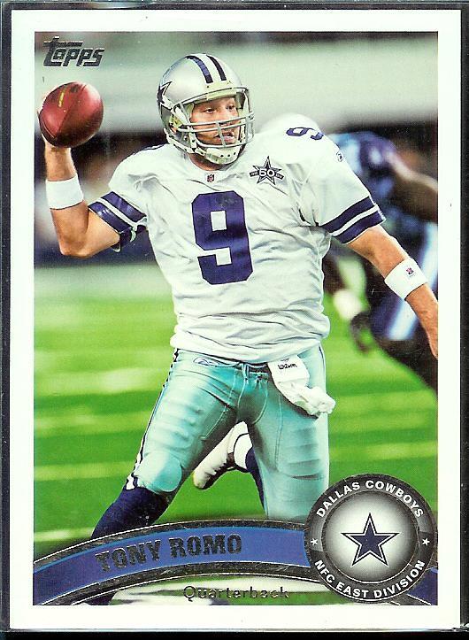 2011 Topps Tony Romo_360
