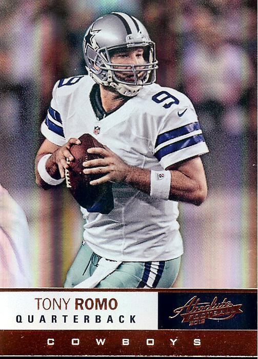 2012 Absolute (retail) Tony Romo