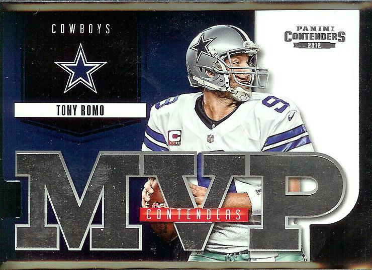 2012 Contenders MVP Tony Romo