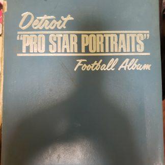 1970 Detroit Lions Pro Star Portrait Binder